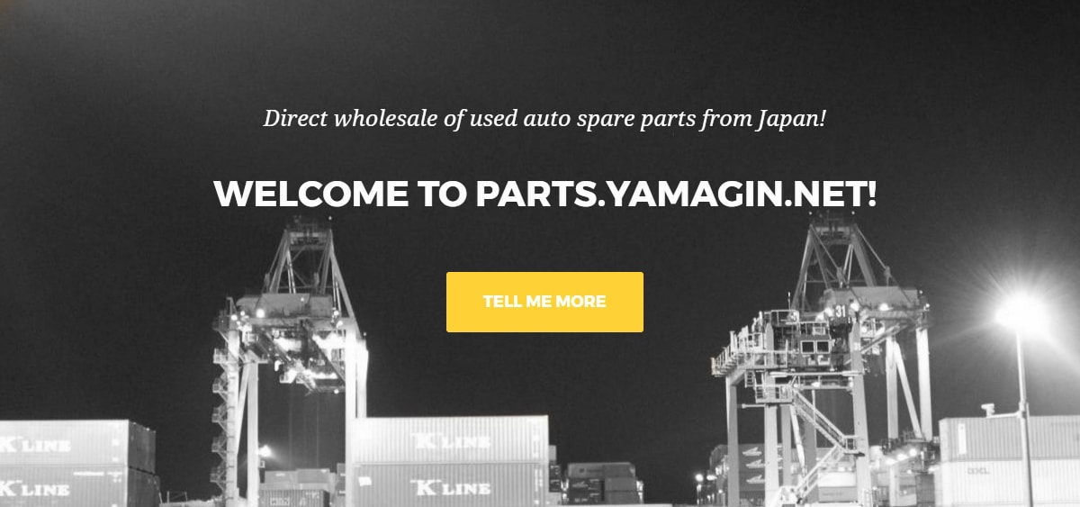 Welcome to Parts.Yamagin.net!